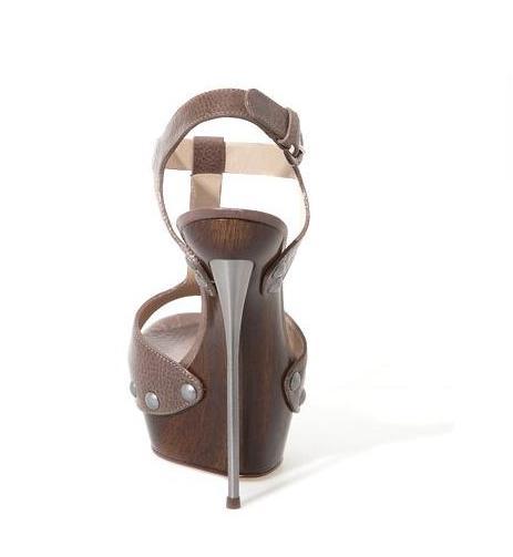 5058584db Босоножки CASADEI Leather Sandal коричневый, Босоножки CASADEI Leather  Sandal коричневый ...