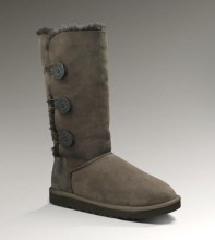 UGG Australia Women's Bailey button triplet, Chocolate 1873